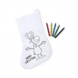 Calcetín infantil para pintar