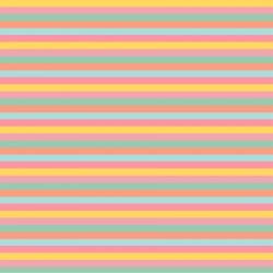 Banderín con nombre y fondo de rayas de colores