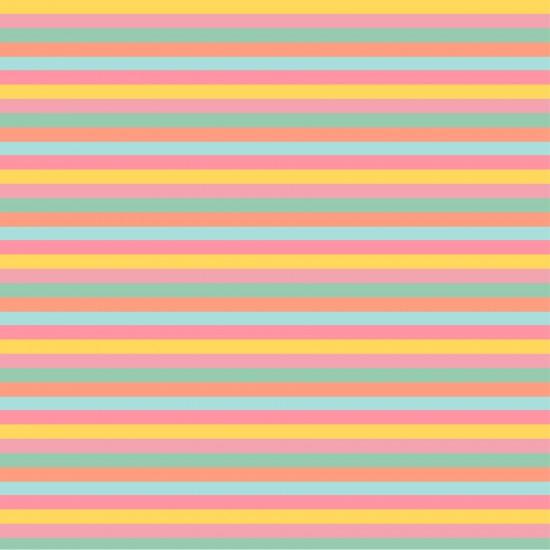 Banderín personalizado Modelo Rayas de colores