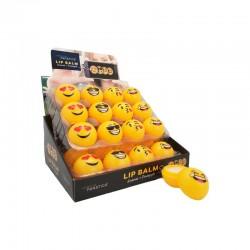 Bálsamos labiales en forma de emoticono (Sin caja)