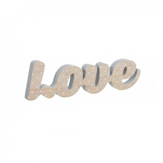 Letras decorativas LOVE en madera