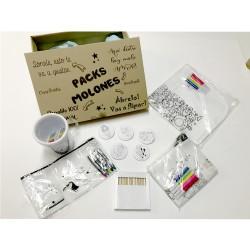 Pack Molón Infantil para pintar
