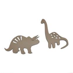 Set dinosaurios Die-cut
