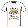Camiseta Solidaria Iniciativa Arcoiris