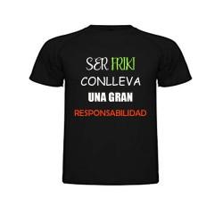 Camiseta con frase para Frikis