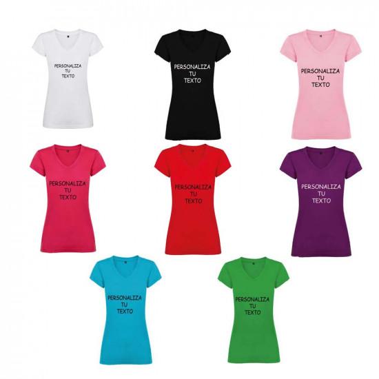 Camisetas para personalizar con el texto que quieras