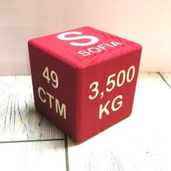 Cubo de madera Natalicio