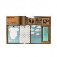 Kit de tarjetas + sello para bebés