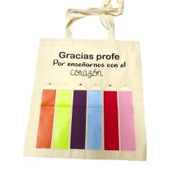 Bolsa para profes Modelo lápices
