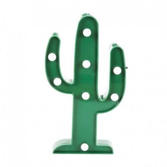 Lámparas con luces led Cactus, Piña y Flamenco