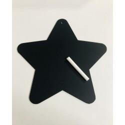 Pizarra en forma de Estrella