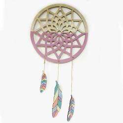 Atrapasueños Mandala Modelo Hortensia