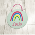 Cartel decorativo personalizado Modelo Arcoiris