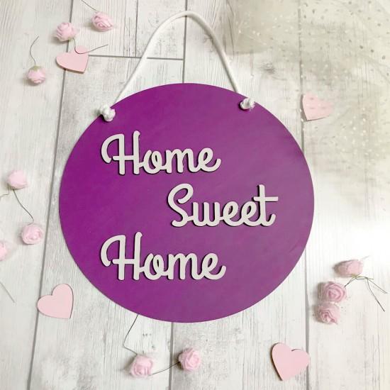 Cartel decorativo Home Sweet Home