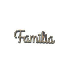 Palabras en madera para Scrap FAMILIA