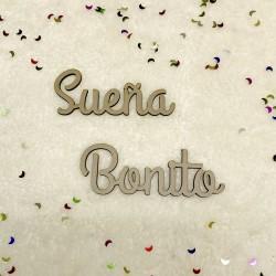 Die-Cuts frase SUEÑA BONITO