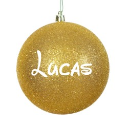 Bolas de navidad personalizadas Mate