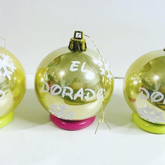 Bolas de navidad DORADAS