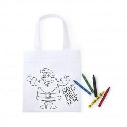Bolsita de asas infantil para pintar