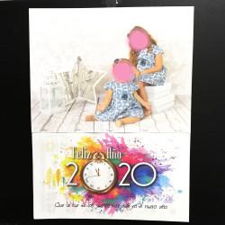Calendarios de pared personalizado con la foto que quieras