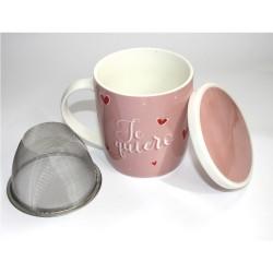 Taza para tisana con filtro