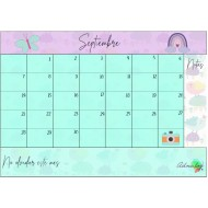 Calendario descargable Septiembre