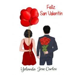 Lámina Parejas San Valentín